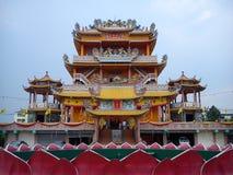 寺庙汉语 库存照片