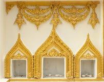 寺庙泰国墙壁 免版税库存图片