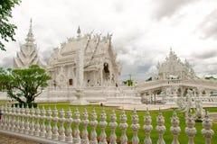 寺庙泰国白色 免版税库存照片