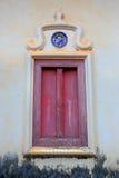 寺庙泰国视窗 免版税库存图片