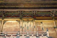 寺庙片段 库存照片