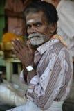 寺庙献身者在马杜赖,金奈 免版税库存照片