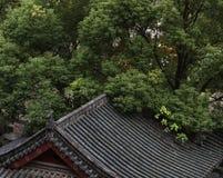寺庙的一个角落 图库摄影