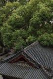 寺庙的一个角落 库存图片
