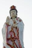 寺庙的中国神 库存照片