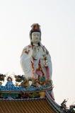 寺庙的中国神 免版税图库摄影