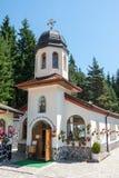 寺庙的圆顶在圣徒Panteleimon修道院里  库存图片