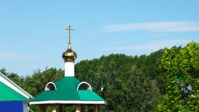 寺庙的圆顶 库存照片