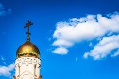 寺庙的圆顶 图库摄影