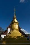 寺庙的塔从北泰国 图库摄影
