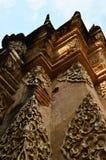 寺庙的墙壁 库存图片