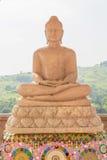 寺庙的大理石菩萨 免版税库存照片