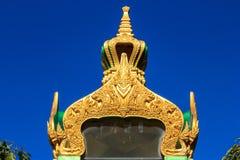 寺庙的山墙 库存照片