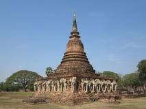 寺庙的废墟 库存图片
