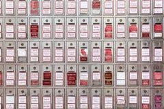 寺庙的捐赠箱子 免版税库存照片