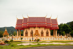 寺庙的教会 免版税库存图片