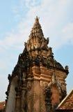 寺庙的曲拱 库存图片