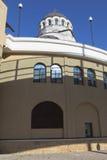 寺庙的片段基督的圣洁面孔救主在解决爱德乐,索契 免版税库存图片