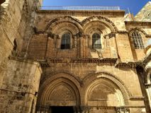 寺庙的耶路撒冷建筑的秀丽 免版税库存照片