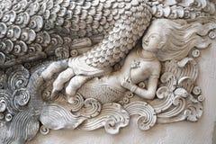 寺庙的装饰的片段 免版税库存图片