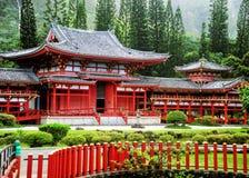 寺庙的谷,毛伊 免版税库存图片