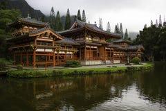 寺庙的谷 库存图片