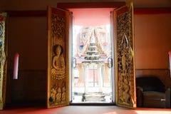 寺庙的门 免版税图库摄影