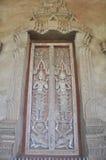 寺庙的门 库存照片