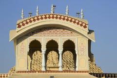 寺庙的顶面部分 免版税图库摄影