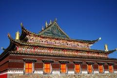 寺庙的颜色 图库摄影