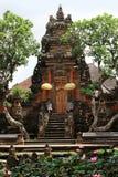 Pura Taman Saraswati Tample在Ubud,巴厘岛,印度尼西亚 免版税图库摄影