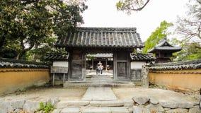 寺庙的Entrace Kaidan在 库存照片