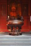 寺庙缸 库存照片