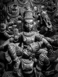 寺庙艺术Sri Venkateswara博物馆在Tirupati,印度 库存图片