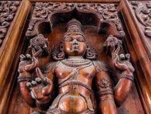 寺庙艺术Sri Venkateswara博物馆在Tirupati,印度 图库摄影