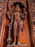 寺庙艺术Sri Venkateswara博物馆在Tirupati,印度 免版税库存图片