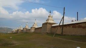寺庙蒙古 免版税库存图片
