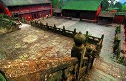 寺庙视图 免版税图库摄影