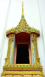 寺庙视窗 免版税库存图片