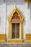 寺庙视窗 库存图片