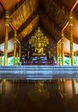 寺庙诗琳通Wararam Phuproud,艺术性,泰国,公众pl 免版税库存照片