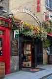 寺庙酒吧客栈在都伯林,爱尔兰 免版税库存图片