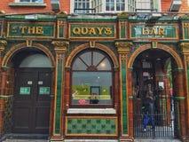 寺庙酒吧,都伯林爱尔兰 免版税库存图片