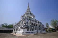 寺庙锡Tan Luang 库存照片