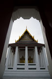 寺庙门 库存图片