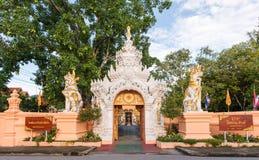 寺庙门 图库摄影