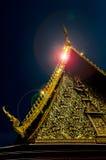 寺庙闪光 免版税库存图片