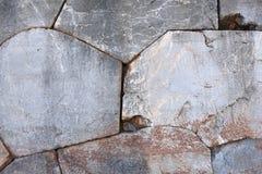 寺庙阿波罗寺庙的石墙细节在特尔斐, Gree 库存图片