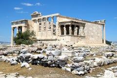 寺庙雅典娜耐克,雅典卫城,希腊4 免版税库存图片