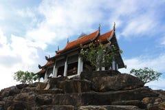 寺庙顶层 免版税图库摄影